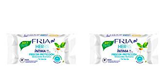 Intimate Wipes FRIA HERBS ECOCERT toallitas íntimas bio protección Fria