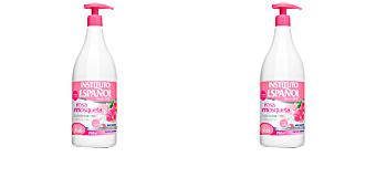 Body moisturiser ROSA MOSQUETA leche corporal hidratante Instituto Español