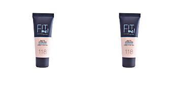 Foundation makeup FIT ME MATTE+PORELESS foundation Maybelline