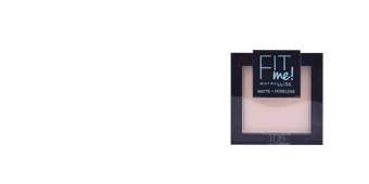 Poudre compacte FIT ME MATTE+PORELESS powder Maybelline