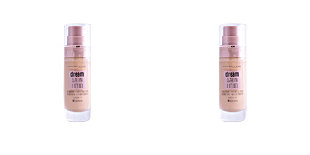Foundation makeup DREAM SATIN LIQUID FOUNDATION+SERUM Maybelline