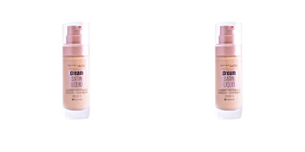 Base de maquillaje DREAM SATIN LIQUID FOUNDATION+SERUM Maybelline