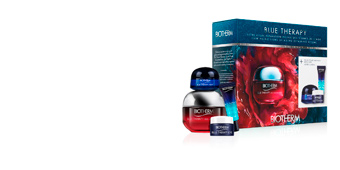Anti aging cream & anti wrinkle treatment BLUE THERAPY RED ALGAE UPLIFT  SET Biotherm