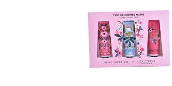 Set cosmétique pour le corps TRIO DE CRÈMES MAINS  COFFRET L'Occitane