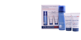 Face moisturizer MEN BAUME SUPER HYDRATANT  SET Clarins