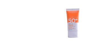 Faciales SOLAIRE crème toucher sec SPF50 Clarins