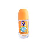 Desodorante BALI KISS mango & vainilla deo roll-on Fa