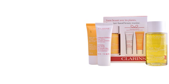Set cosmética corporal HUILE TONIC LOTE Clarins