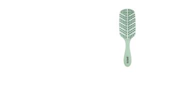 Brosse à cheveux DETANGLING natural fiber cepillo #verde Beter