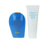 Visage EXPERT SUN AGING PROTECTION LOTION SPF50+ COFFRET Shiseido