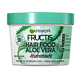 Hair mask for damaged hair FRUCTIS HAIR FOOD aloe mascarilla hidratante Garnier