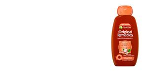 Shampoo lisciante ORIGINAL REMEDIES champú aceite coco y cacao L'Oréal París