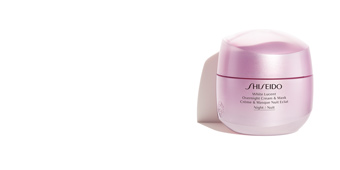 Skin lightening cream & brightener WHITE LUCENT overnight cream & mask Shiseido