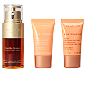 Skincare set DOUBLE SERUM - EXTRA FIRMING SET Clarins