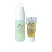 Set cosmética facial WASO QUICK MATTE MOISTURIZER OIL-FREE LOTE Shiseido