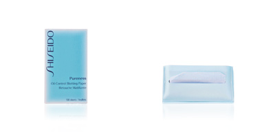 Shiseido PURENESS oil control blotting paper 100 un
