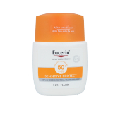 Faciales SENSITIVE PROTECT sun fluid mattyfying SPF50+ Eucerin