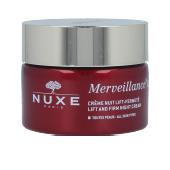 Soin du visage raffermissant MERVEILLANCE EXPERT crème nuit lift-fermeté Nuxe