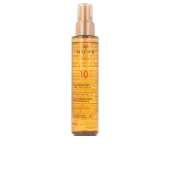 Gesichtsschutz NUXE SUN huile bronzante visage et corps SPF10 spray Nuxe