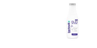 Duschgel LACTOVIT DUO NUTRITIVO gel + loción Lactovit