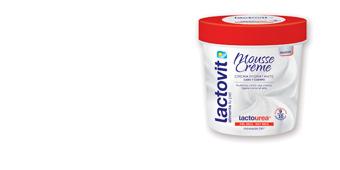 Hidratante corporal LACTO-UREA MOUSSE CREME cara & cuerpo Lactovit