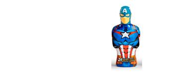 Higiene para Crianças AVENGERS CAPITÁN AMÉRICA gel & champú 2en1 Cartoon