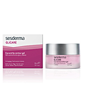 Dark circles, eye bags & under eyes cream GLICARE gel contorno ojos-labios Sesderma