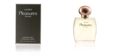 PLEASURES FOR MEN cologne spray 100 ml Estée Lauder