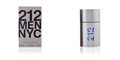 212 NYC MEN eau de toilette vaporizzatore 50 ml Carolina Herrera
