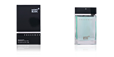 Montblanc PRESENCE MEN edt vaporizador 75 ml
