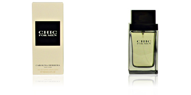 CHIC FOR MEN eau de toilette vaporizzatore 100 ml Carolina Herrera