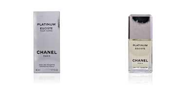ÉGOÏSTE PLATINUM eau de toilette spray 50 ml Chanel