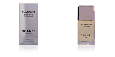 ÉGOÏSTE PLATINUM eau de toilette spray 100 ml Chanel