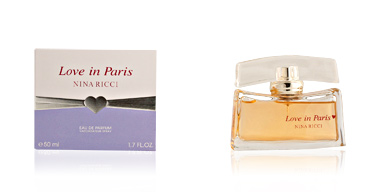 Nina Ricci LOVE IN PARIS eau de parfum vaporizador 50 ml