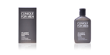 Face scrub - exfoliator MEN oil control exfoliating tonic Clinique