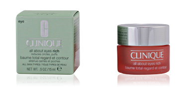 Dark circles, eye bags & under eyes cream ALL ABOUT EYES rich Clinique