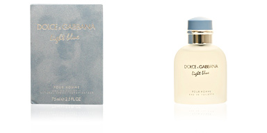 Dolce & Gabbana LIGHT BLUE HOMME eau de toilette vaporizador 75 ml
