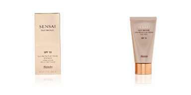 Faciales SENSAI SILKY BRONZE sun protective cream for face SPF10 Kanebo Sensai