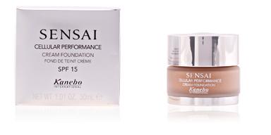 Kanebo SENSAI CP cream foundation SPF15 #cf-14 30 ml