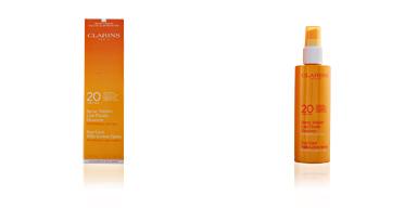 SUN spray solaire lait fluide SPF20 Clarins