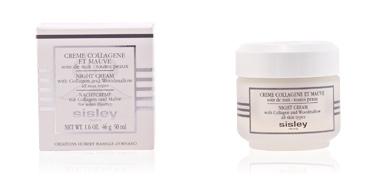 Anti aging cream & anti wrinkle treatment PHYTO NUIT crème collagène et mauve Sisley