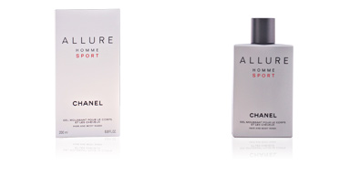 Shower gel ALLURE HOMME SPORT hair and body wash Chanel
