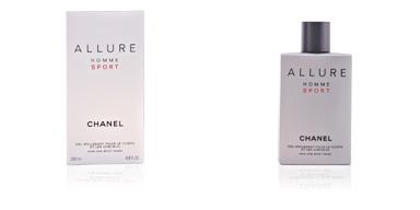 Gel de baño ALLURE HOMME SPORT gel moussant pour le corps et les cheveux Chanel