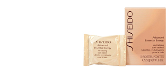 Badesalz ADVANCED ESSENTIAL ENERGY revitalizing bath tablets Shiseido