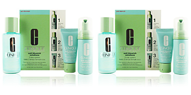 Tratamiento Acné, Poros y puntos negros ANTI-BLEMISH SOLUTIONS 3-step skin care system Clinique