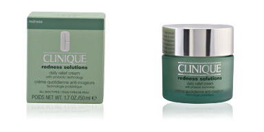 Tratamento hidratante rosto REDNESS SOLUTIONS daily relief cream Clinique