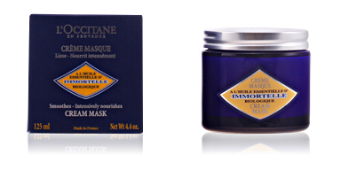 Face mask IMMORTELLE crème masque L'Occitane