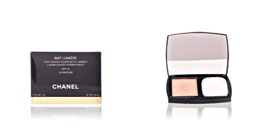 Chanel MAT LUMIERE compact #100-intense 13 gr
