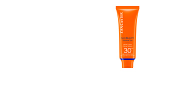 Faciais SUN BEAUTY velvet touch face cream SPF30 Lancaster
