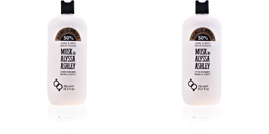 MUSK hand & körperlotion limited edition 750 ml Alyssa Ashley